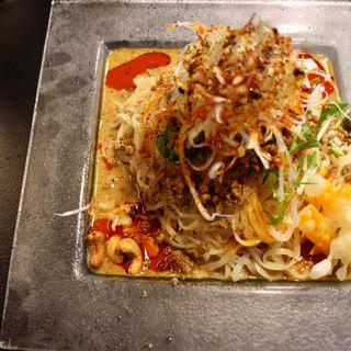 冷やし汁なし担担麺(175°DENO〜担担麺〜 本店)