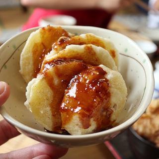 味噌ポテト(二八そば ひらい)