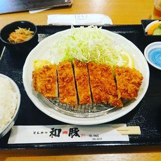 和豚もちぶた とんかつ定食