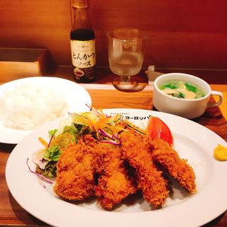 チキンカツ定食(キッチンヨーロッパ)