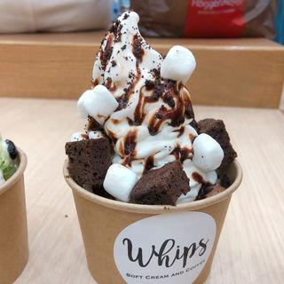ミルク チョコレート (ソフトクリーム)(whips)