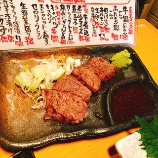 かいのみステーキ(牛の四文屋 )
