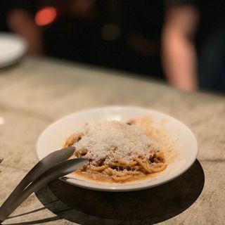 炭ドキドキ薪 ミートスパゲティ