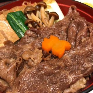 すき焼き丼(浅草今半 松坂屋上野店 (マツザカヤウエノテン))