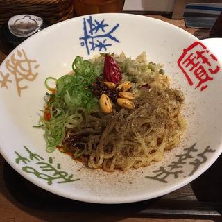 冷やし麻辣・汁なし担々麺(香家 目黒東口店 (コーヤ))