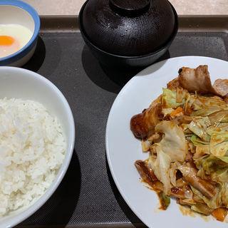 回鍋肉定食(松屋 高津店 )