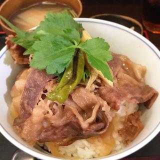 牛丼(並)(神戸牛丼 広重)