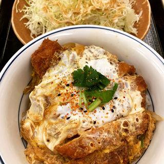 カツ丼(竹)+千切りキャベツ(かつや池袋西口店 )