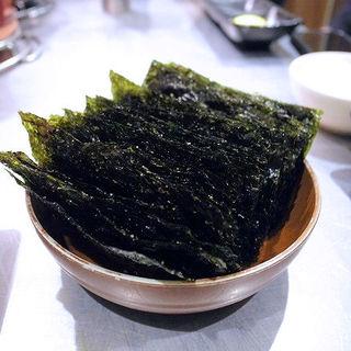 韓国海苔(焼肉ヒロミヤ )