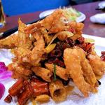 麻辣大虾(特製車エビ唐辛子炒め)