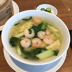 えび麺セット(鼎泰豊 銀座店)