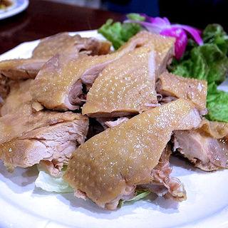 蒸し鶏(アリヤ 清真美食 池袋店)