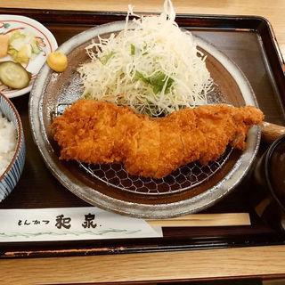 大ロースかつ定食(とんかつ和泉 )
