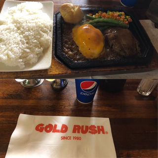 ダブルチーズハンバーグ(ゴールドラッシュ 本店 )
