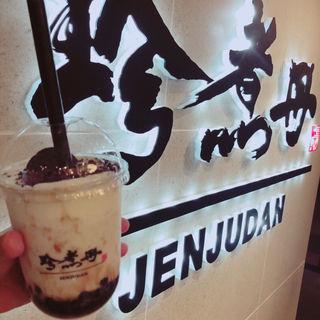 ミルクフォーム黒糖オレオタピオカミルク(珍煮丹  マグネット渋谷109店)