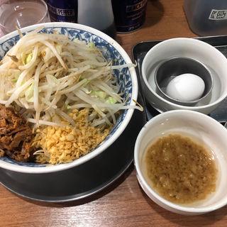 油そば(ラーメンぶぅさん)