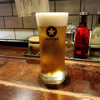 サッポロ生ビール(新潟 三宝亭 東京ラボ 中目黒店 (ニイガタ サンポウテイ トウキョウラボ))