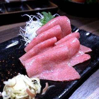 肉刺し(焼肉 あがり)