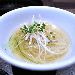 冷麺(焼肉 あがり)