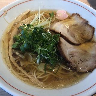 魚介醤油ラーメン琥珀(拉麺開花)