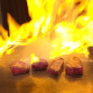 【ホールケーキ付】記念日コースサーロインとフィレどちらも楽しめる特別コース(ミートイン (Meat INN))