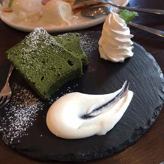 抹茶ガトーショコラ(512 CAFE & GRILL )