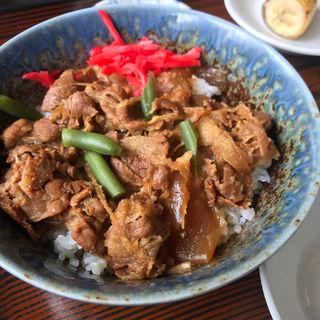 牛丼(レストラン椿 )