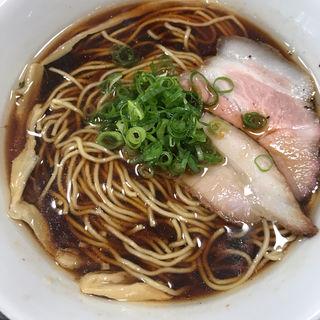 醤油ラーメン(かしわぎ)