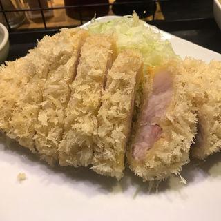 煌麦豚特ロースかつ定食(成蔵 (ナリクラ))