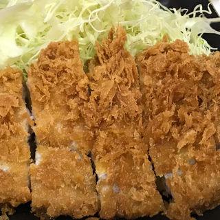 【限定】特ロースかつ定食(とんかつ まるや 大手町店 )