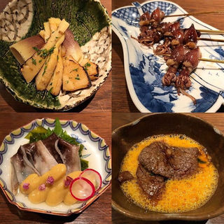 ホタルイカの炭火焼き(ぽんしゅや三徳六味)