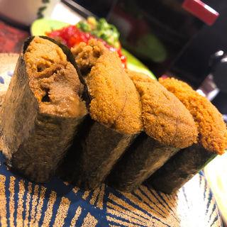雲丹(回転寿司 根室花まる)