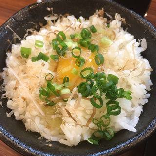 玉子かけご飯(極味噌本舗 すすきの店)