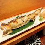アナゴ白焼(魚哲)