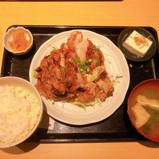 若鶏の竜田揚げ(居酒屋33)