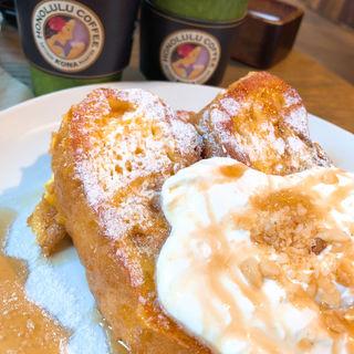フレンチトースト(ホノルルコーヒー 麻布十番店 )