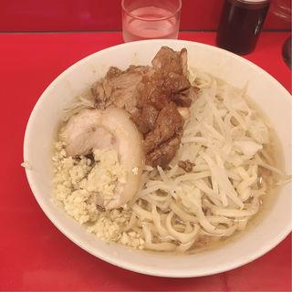 ラーメン少なめ(ラーメン二郎 西台駅前店 )