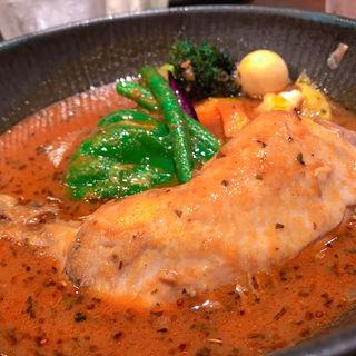 チキンto野菜カレー(lavi 新千歳空港店)