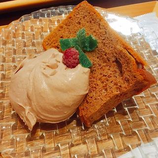 シフォンケーキ(ジャストカフェ (Just Cafe))
