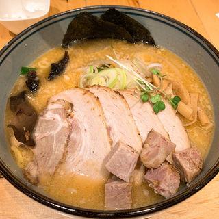 味噌チャーシューメン(白樺山荘 新千歳空港店)