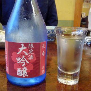 日本酒(桜鍋 吉し多 (よした))