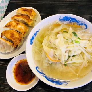 タンタンメン+ぎょうざのセット タンギョー(来々軒 )