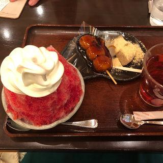Petit かき氷(甘党まえだ なんばCITY店 )