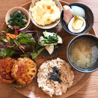 ごはんセット(gomcafe)