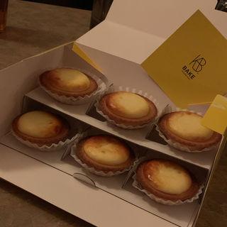 チーズタルト6個入り(ベイク チーズ タルト 新宿ルミネエスト店 (BAKE CHEESE TART))