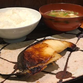 銀ダラの西京焼き(まんみ 西麻布 )