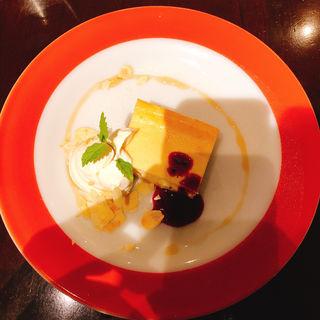 チーズケーキ(Fireking cafe)