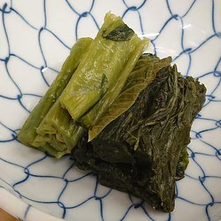 青菜漬け(パブ 山形)