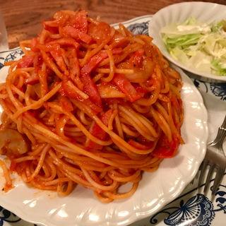 スパゲティセット(さぼうる )