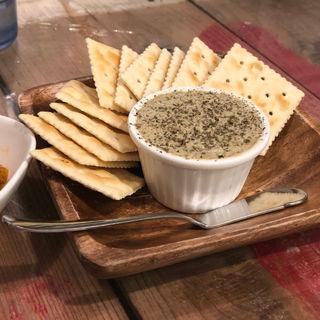 牡蠣とクリームチーズのパテ(地下の粋 )